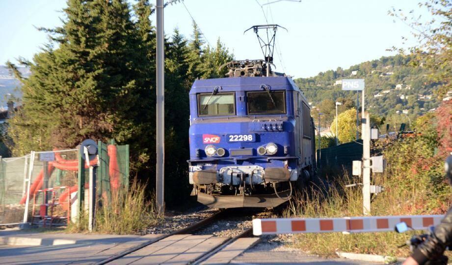 La ligne SNCF Cannes-Grasse rétablie.