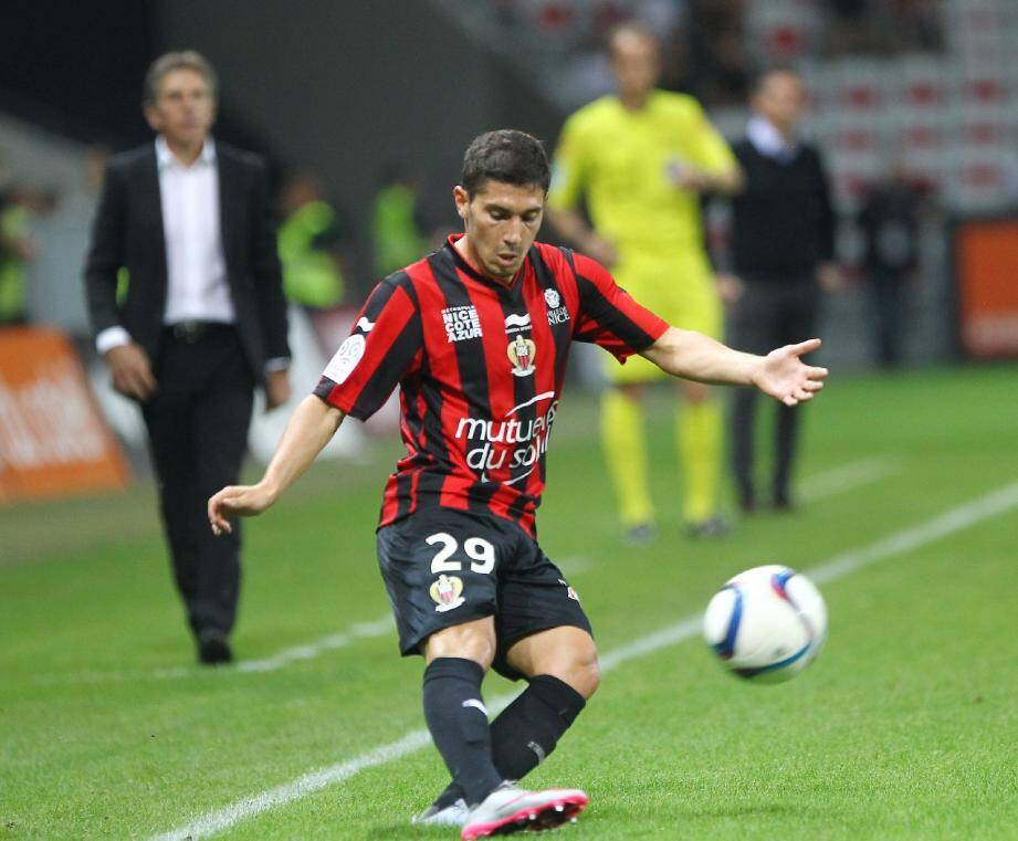Jérémy Pied, défenseur de l'OGC Nice