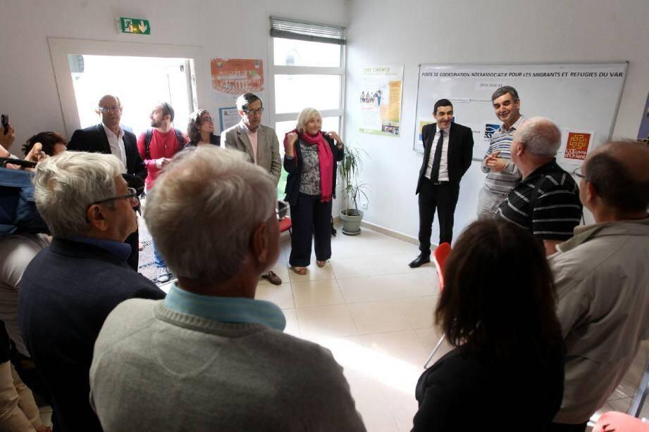 À l'initiative du diocèse, un poste de coordination inter-associatif départemental a été inauguré hier à Toulon, en présence du sous-préfet du Var, Sabry Hani.