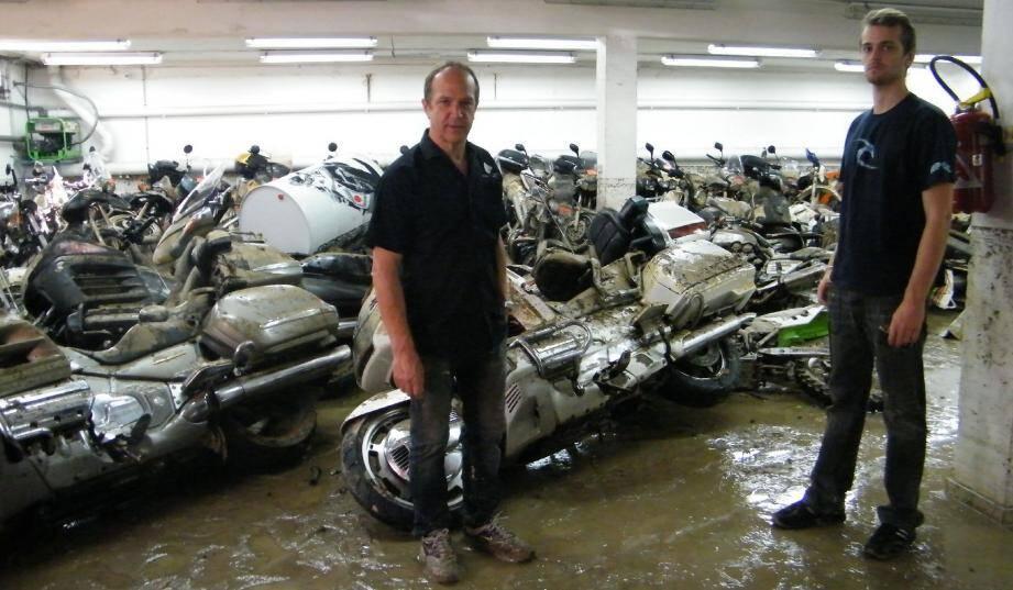 Pierre Desmet, propriétaire de La Maison de la Moto, à Mougins