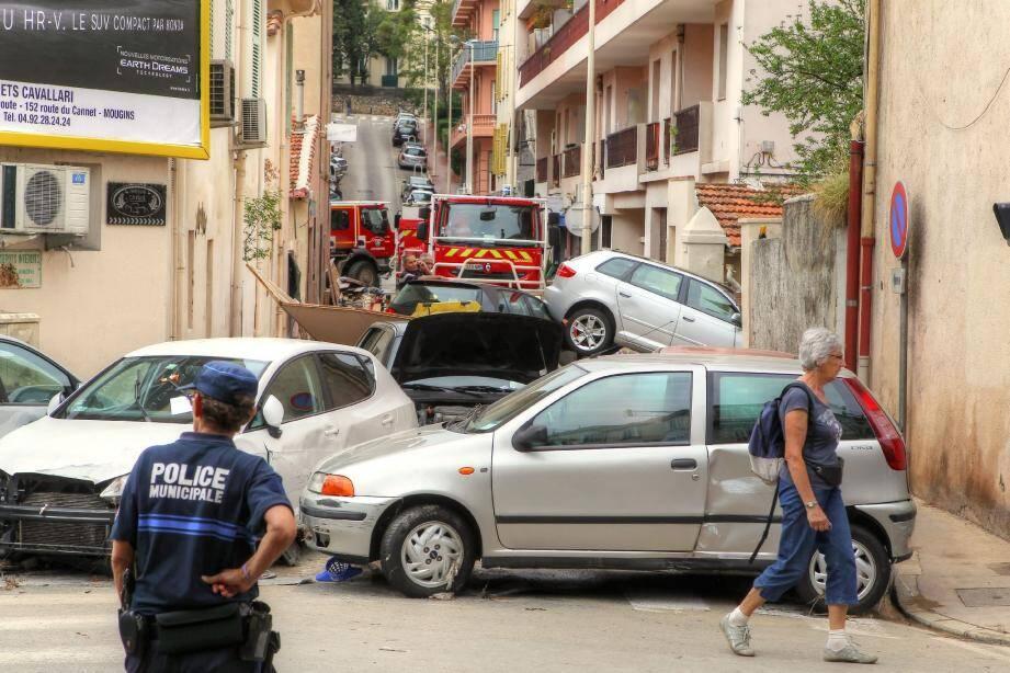 Depuis hier, l'état de catastrophe naturelle a été reconnue pour Cannes par le gouvernement.