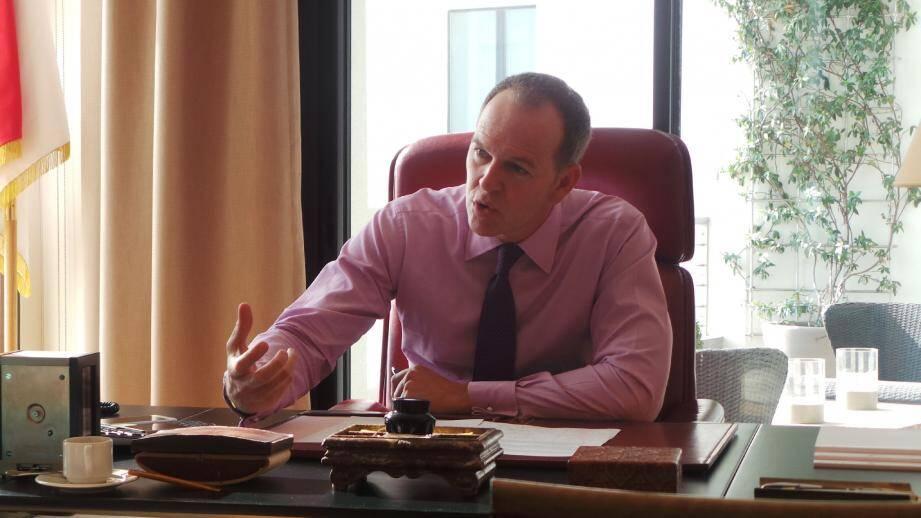 Laurent Nouvion, au lendemain du vote du budget rectificatif.