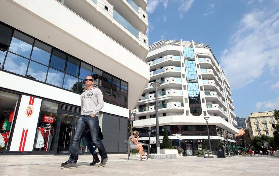 Promenade Honoré-II, les Jardins d'Apolline ont créé un quartier.