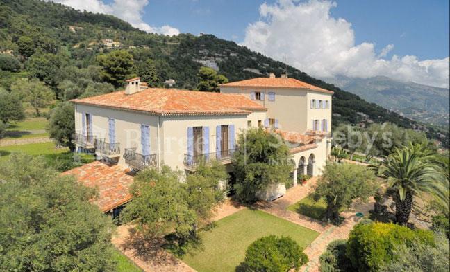 La villa La Pausa de Roquebrune.
