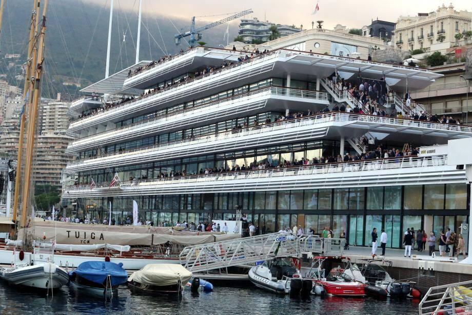 Le public pourra découvrir les coulisses du Yacht Club d'ordinaire exclusivement réservé à ses membres
