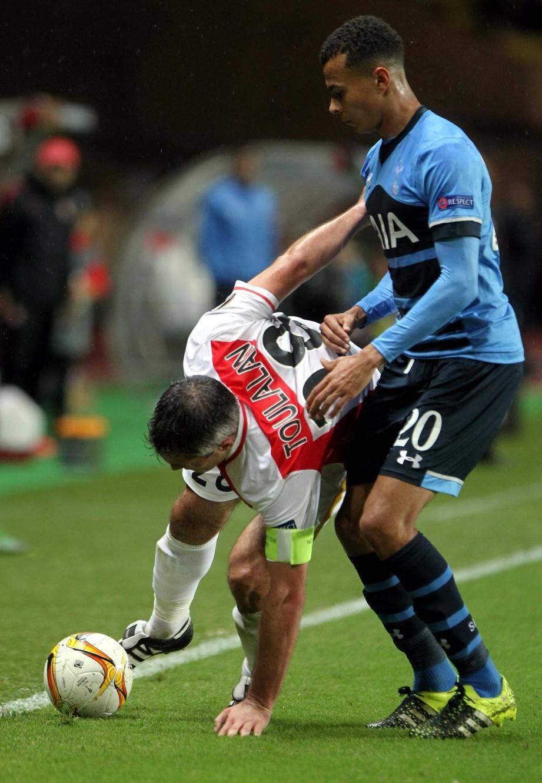 AS Monaco - Spurs Tottenham2eme journée de la phase de poules de la Ligue Europa - stade louis II de monaco à 19h -8 MOUTINHO