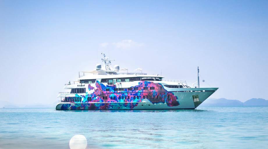 C'est sur ce superbe yacht, le Saluzi, que la première expédition scientifique nouvelle génération va se dérouler en novembre 2016. Destination : les îles Palau.
