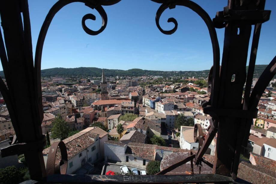 La cité de Draguignan, illustration.