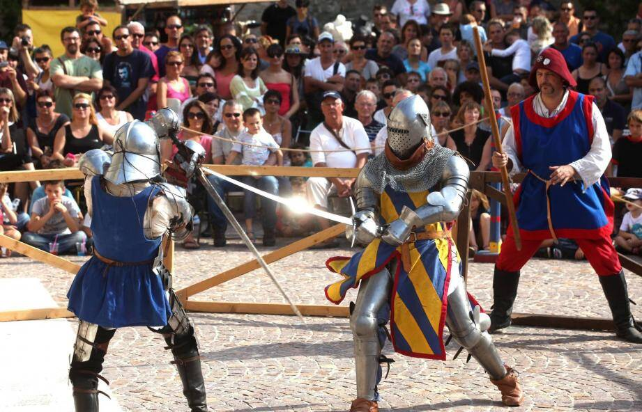 Le tournoi des chevaliers sera l'un des moments forts du week-end