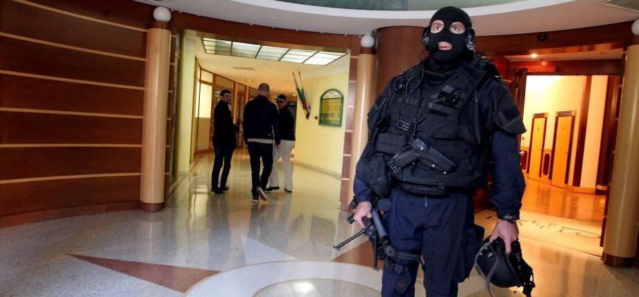 De gros moyens policiers déployés à Monaco.