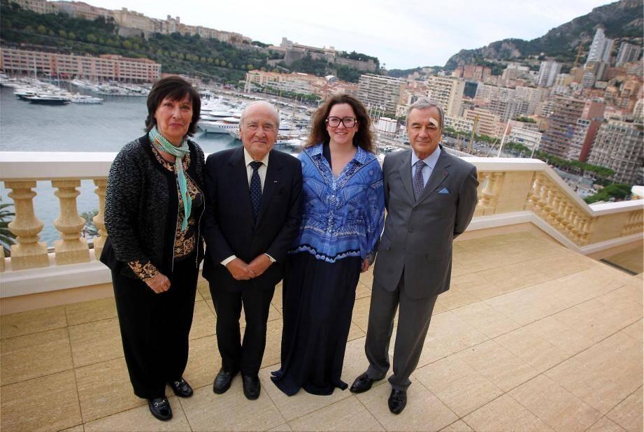Marie-Laurence Mora, le docteur Jean-Joseph Pastor, Frédérique Mora, le professeur Patrick Rampal.