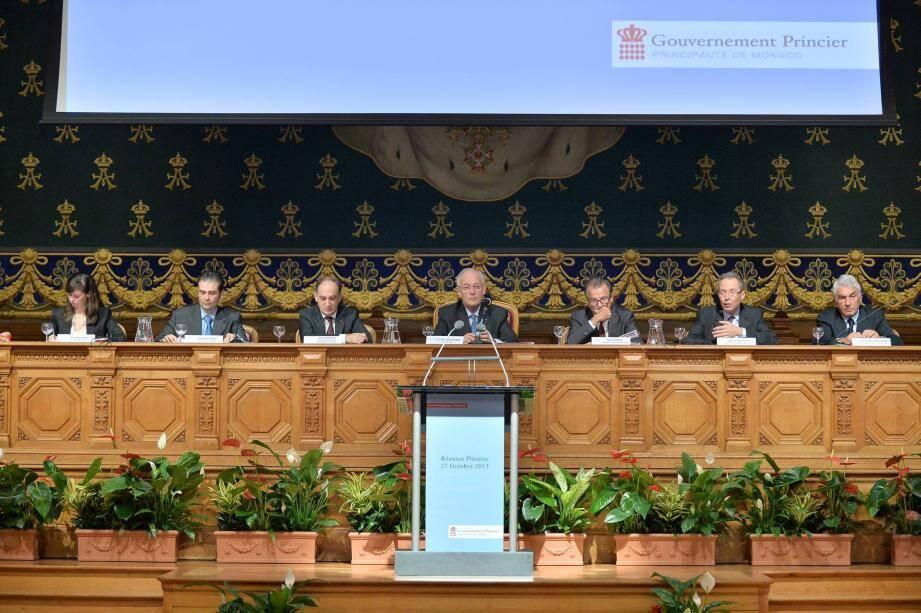 Autour du ministre d'état hier matin, les membres du conseil stratégique pour l'attractivité ont livré leurs réflexions pour le pays.