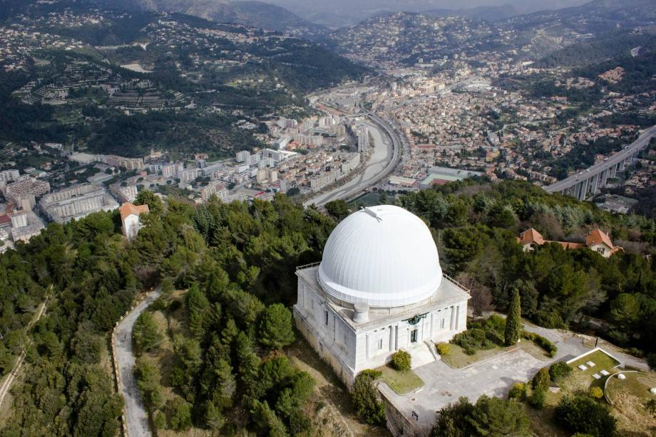 Une vue de l'observatoire de Nice.