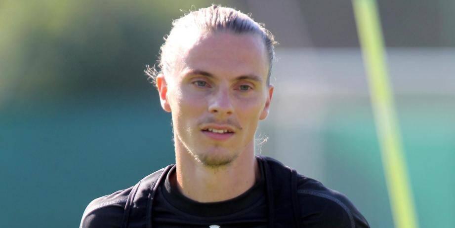 Niklas Hult à l'entraînement.