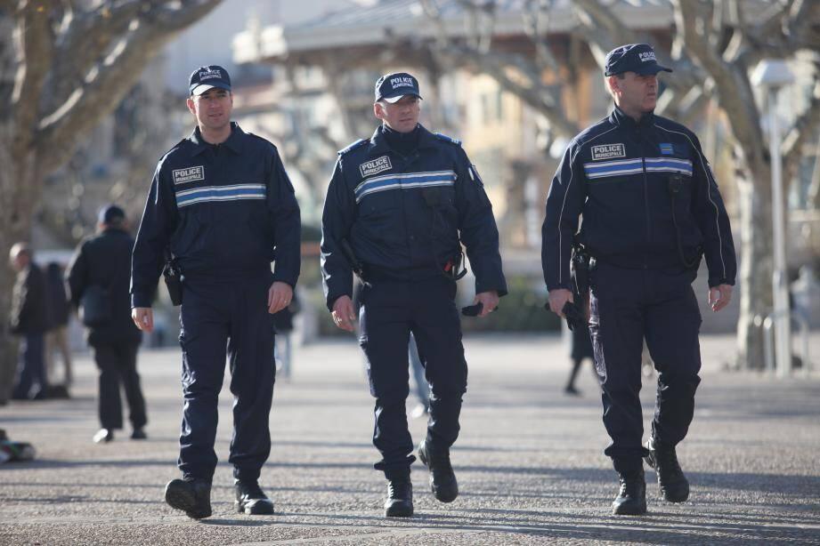 Police municipale de Cannes