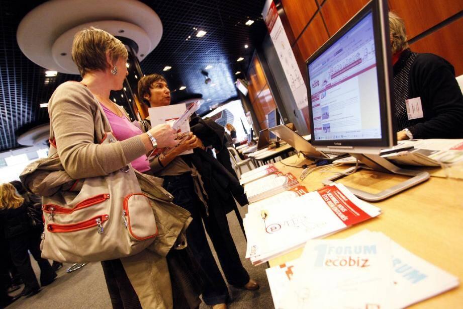 Le forum Ecobiz, en novembre 2012.