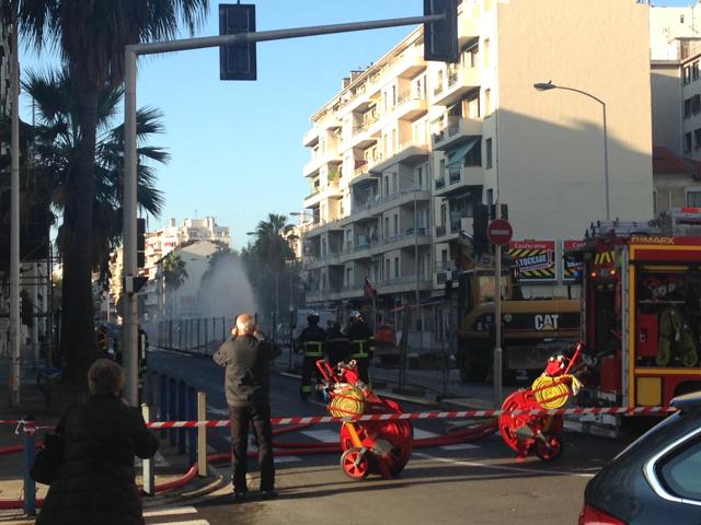 Une fuite de gaz s'est produite ce mardi matin à Nice Ouest.