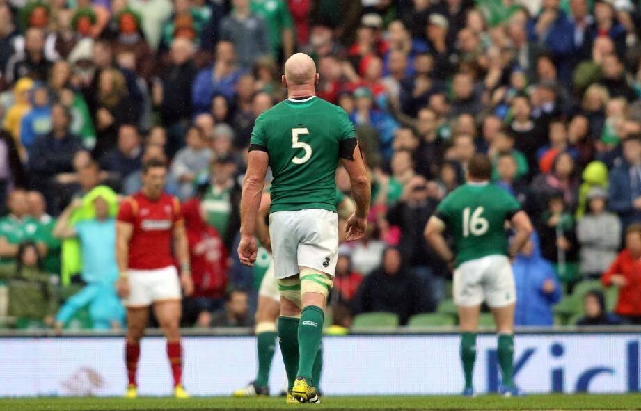 Le deuxième-ligne irlandais Paul O'Connell a annoncé qu'il pourrait être éloigné des terrains pendant huit mois.
