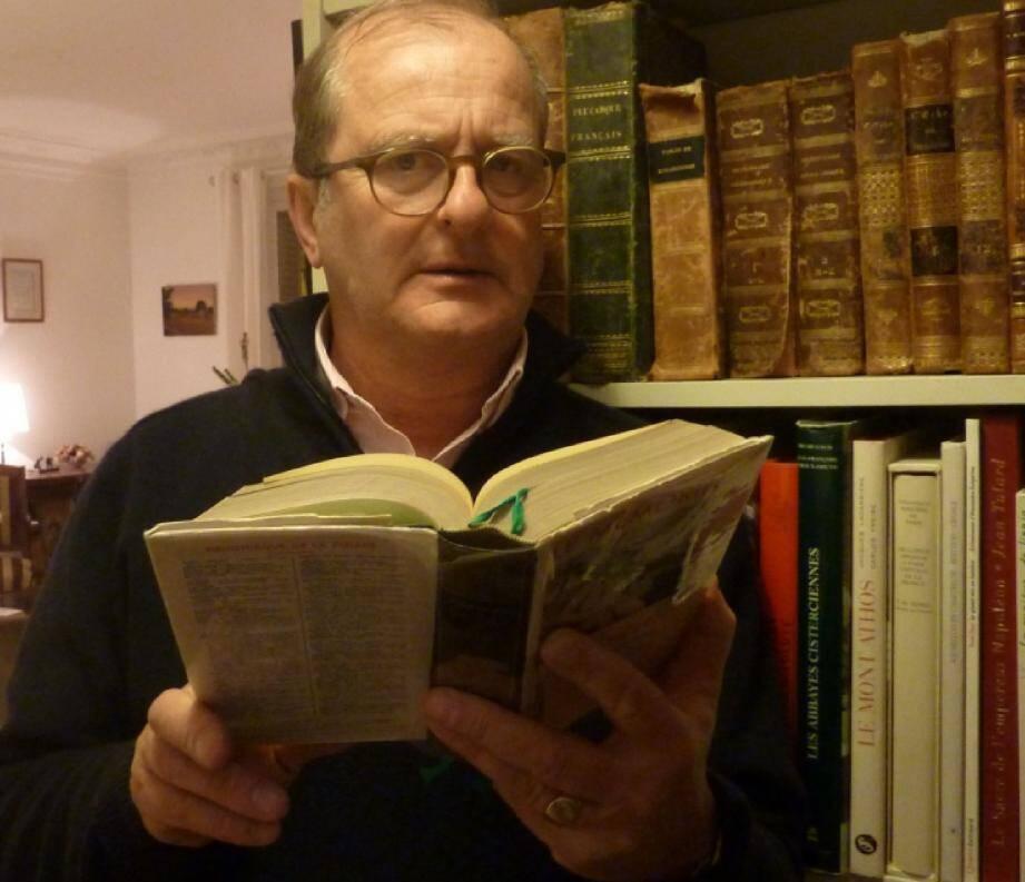 Le journaliste Louis de Courcy animera plusieurs débats. Il a notamment été grand reporter au quotidien La Croix .(DR)