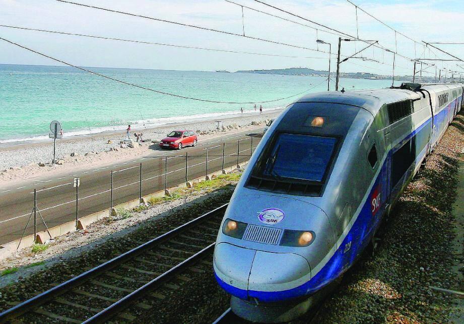 Un TGV, image d'illustration.