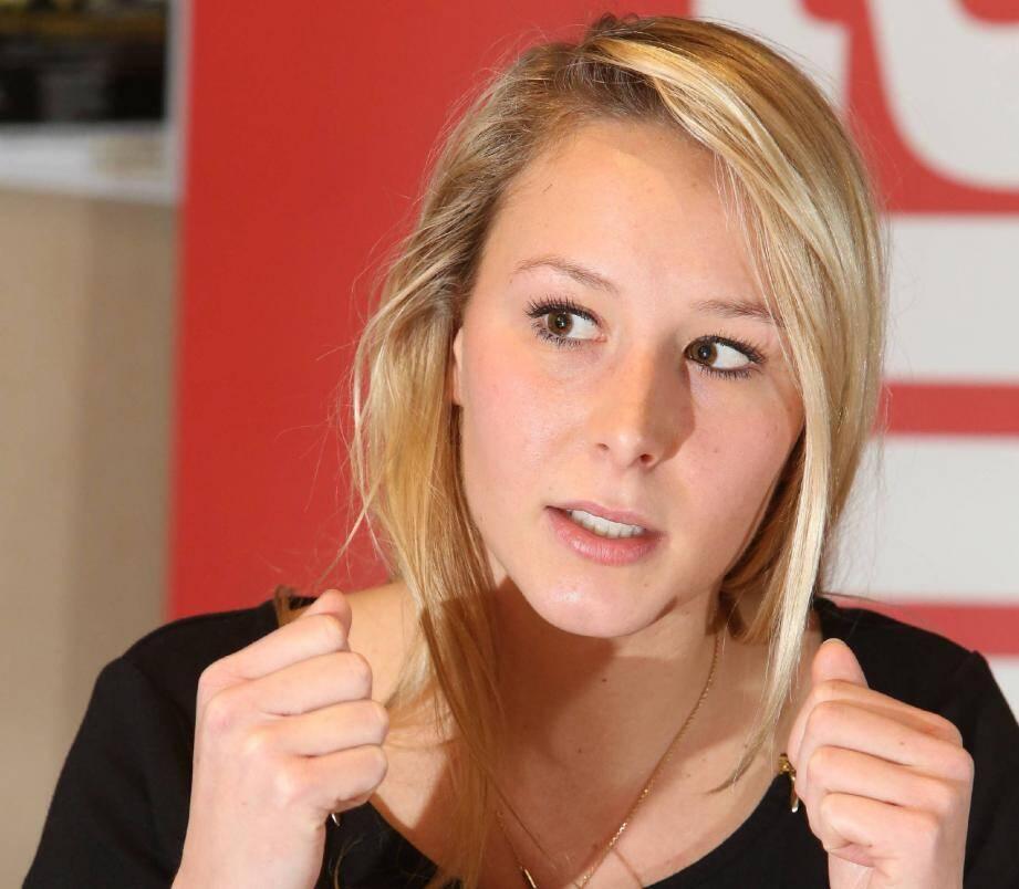 Si elle est élue à la tête de la région Paca, Marion Maréchal-Le Pen veut arrêter de verser des subventions aux plannings familiaux. (Photo Franz Chavaroche)