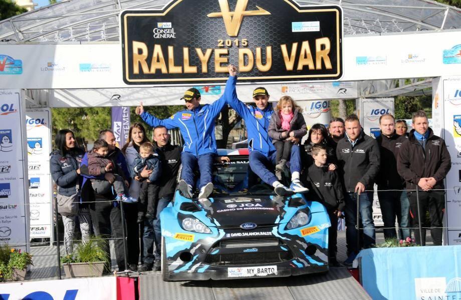 David Salanon a hissé hier son pavillon bleu sur le podium maximois. Victoire !