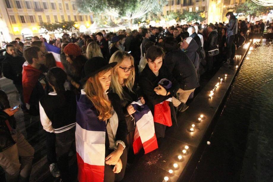 Le rassemblement à Nice.