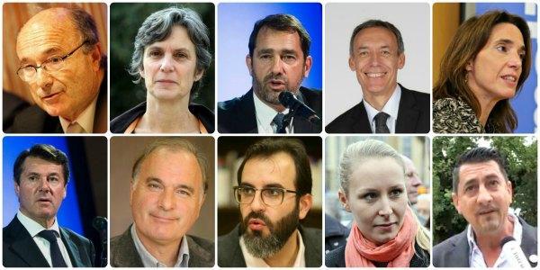 les 10 canidats aux regionales 2015 paca mosaique 151128