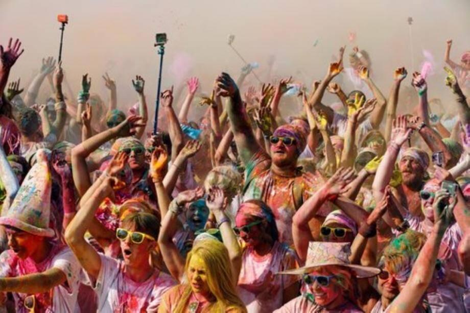 La Color Run de Saint-Mandrier avait déjà attiré les foules.