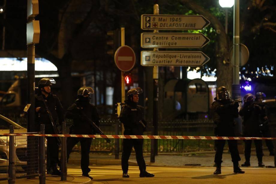 assaut du raid Saint-Denis