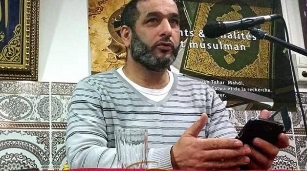 Adblekader Sadouni, imam du quartier des Moulins à Nice.