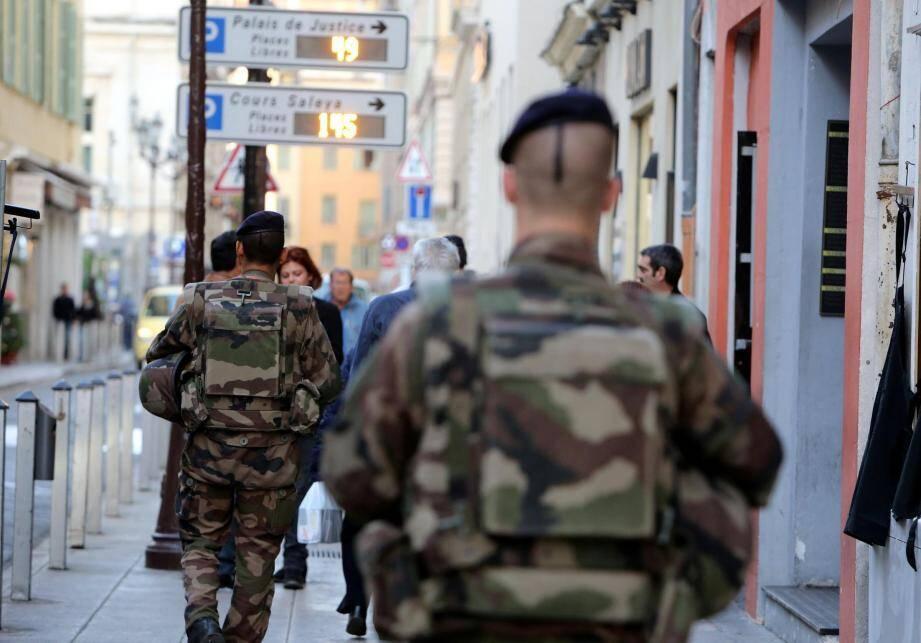 Sécurité attentats militaires
