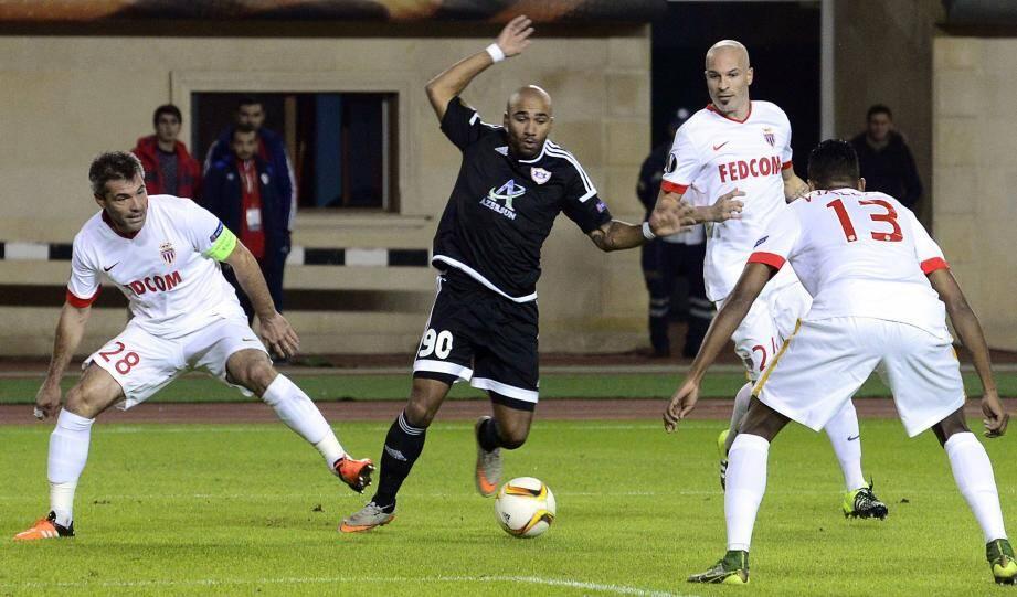 Jeremy Toulalan, pour l'AS Monaco.