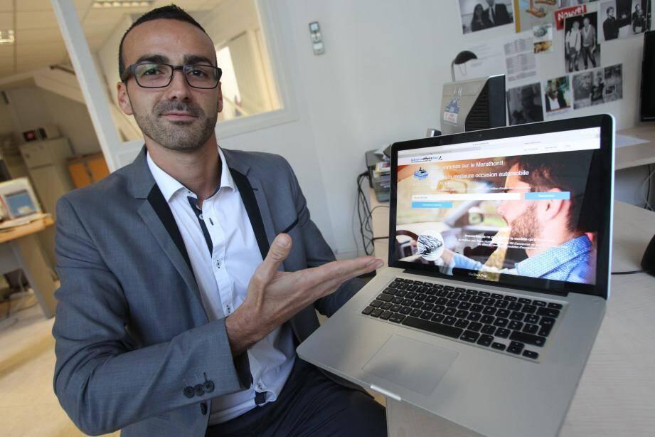 Le co-gérant Anthony Di Folco vous propose de comparer le prix de votre futur véhicule d'occasion en temps réel.