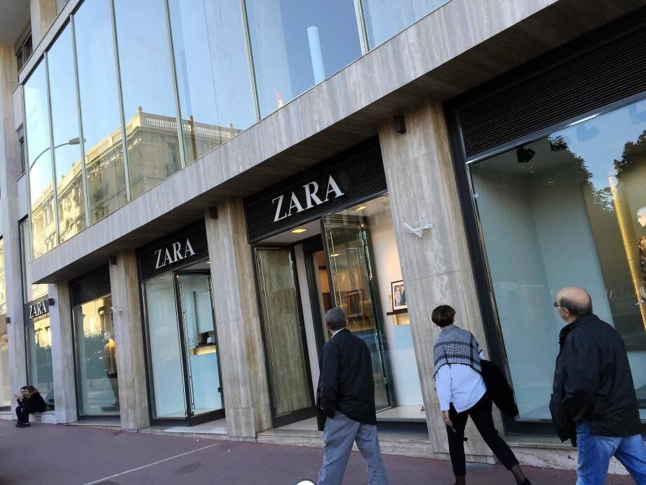 Les livreurs de Zara Monaco ont volé 1.380 articles en huit mois!