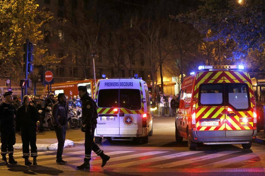 Attaques Paris 13/11/15