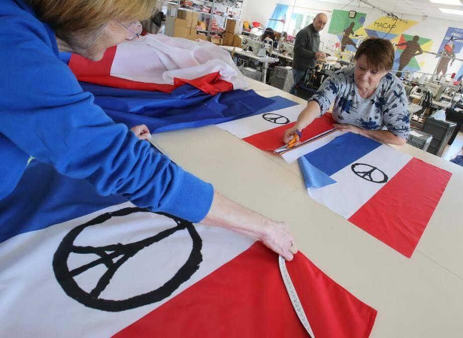 fabrication de drapeau
