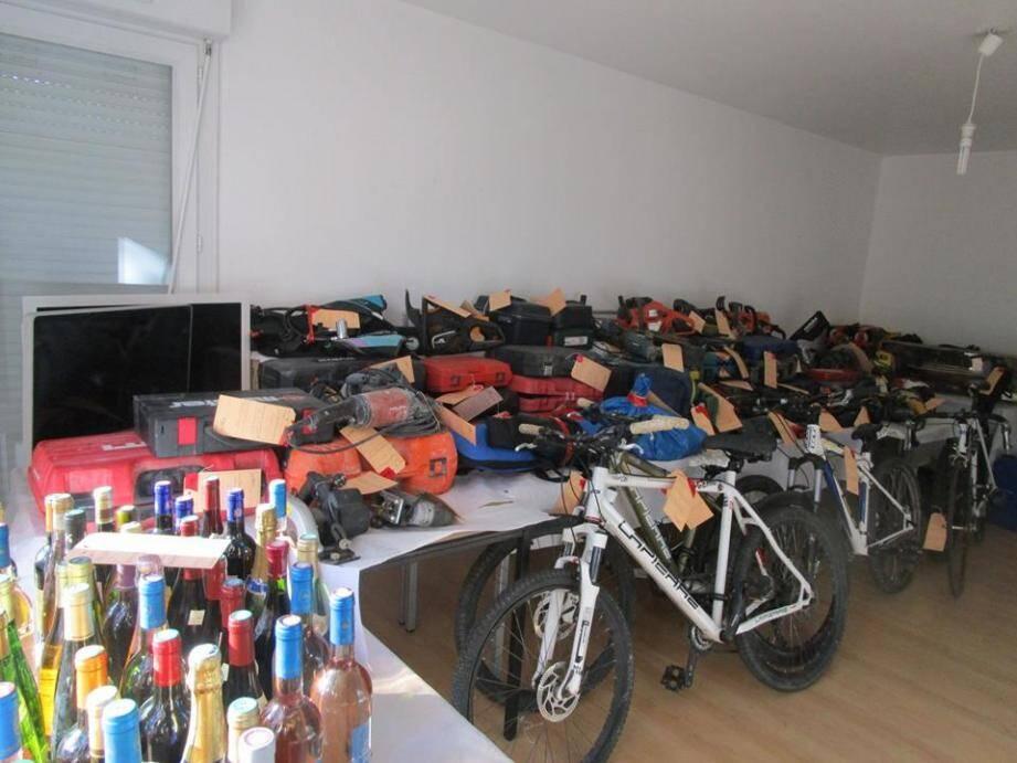 La gendarmerie cherche les propriétaires de ces objets volés