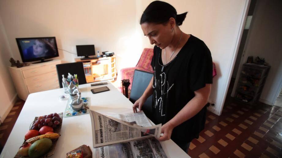 La vie de Nadia a changé grâce à un article de Nice-Matin.
