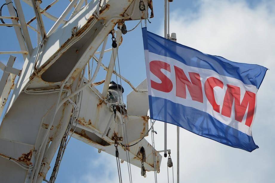 Patrick Rocca (en incrustation) vient de reprendre les rênes de la compagnie maritime reliant la Corse au continent.