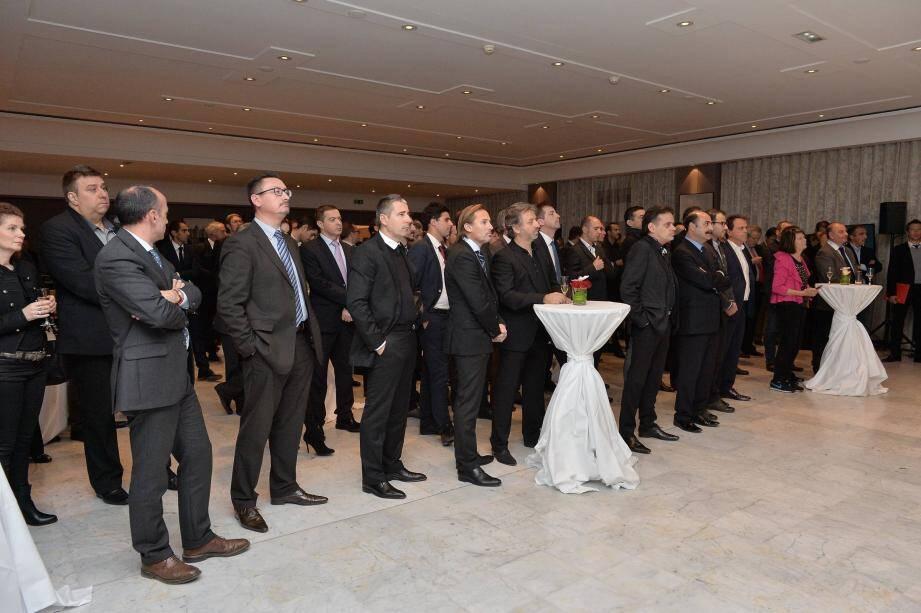 Plus de deux cents partenaires et sponsors des Rouge et Blanc ont assisté, mercredi soir au Café de Paris, au lancement de l'AS Monaco Business Club.