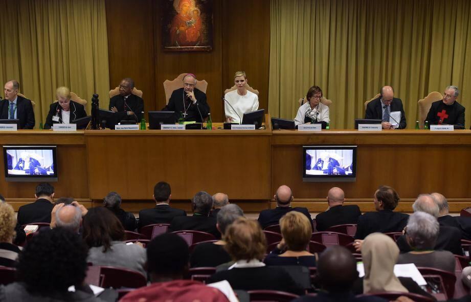 La princesse Charlène a lancé un appel à la coopération internationale pour lutter contre les noyades.