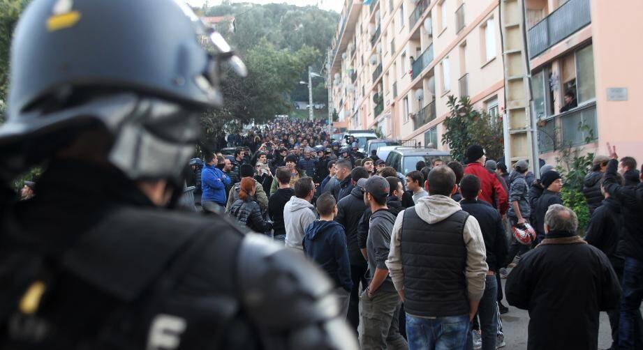 Une manifestation samedi à Ajaccio