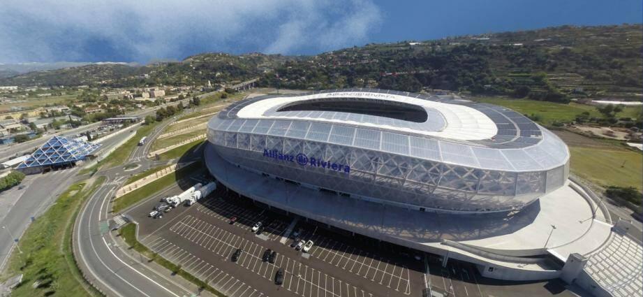 Le stade Allianz Riviera.