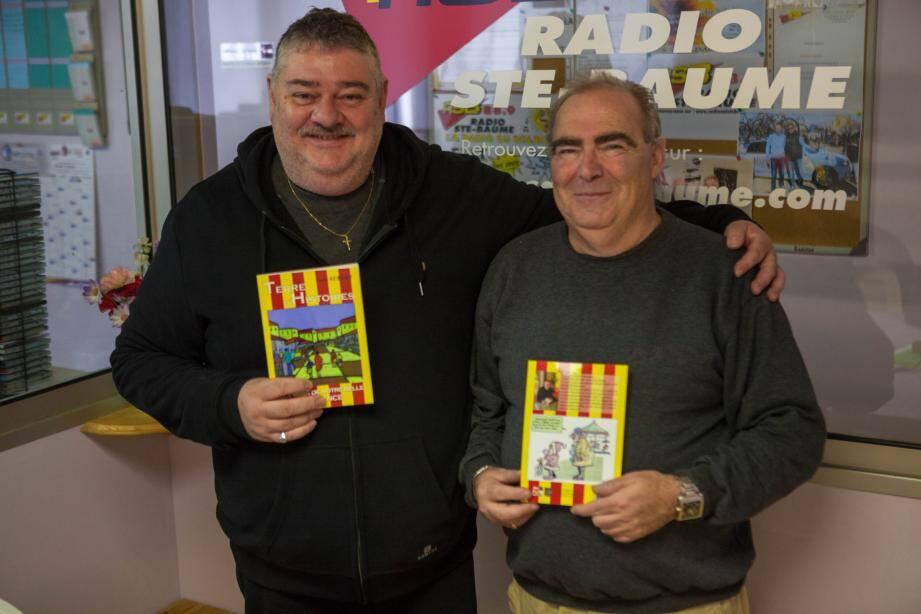 Le chroniqueur André Aubert sur Radio Sainte Baume vient de sortir un ouvrage « Terre d'histoires ».