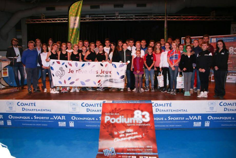 Au total, 47 jeunes champions varois ont été récompensés.