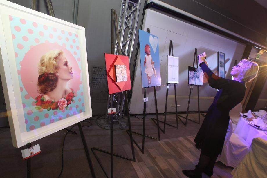 Ci-dessus : cette photographie signée Lucien Clergue a été adjugée à 30 000 euros.