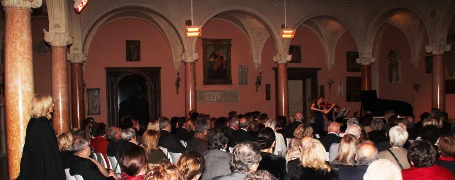 La Villa Éphrussi de Rothschild avait accueilli en janvier dernier un concert des sœurs Milstein.