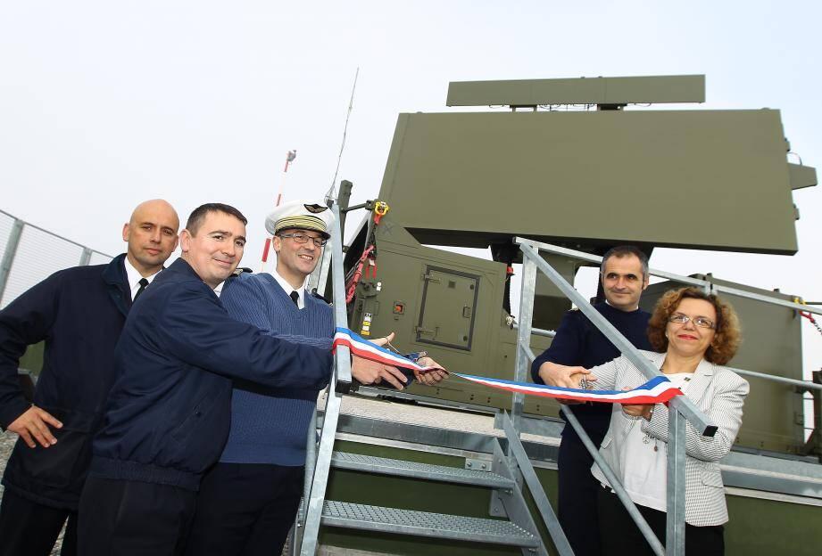 Le Mont-Agel a inauguré hier son nouveau radar.