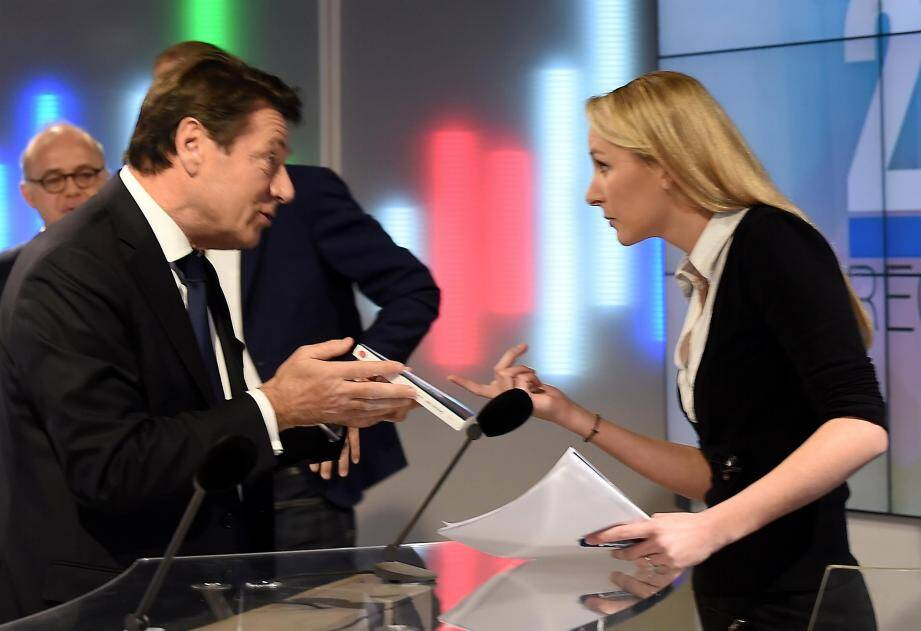 Christian Estrosi a insisté pour offrir à son  adversaire Marion Maréchal-Le Pen, Une vie,  l'autobiographie de Simone Veil.
